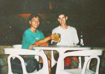 with Matthew in Vientiane