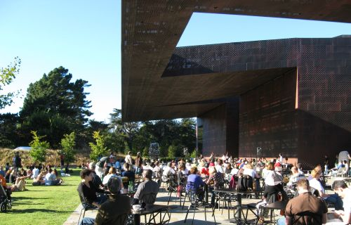 Concert at Osher Sculpture Garden