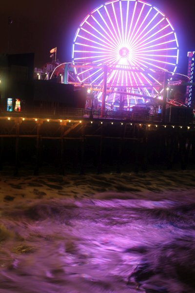 Santa Monica Night Shoot